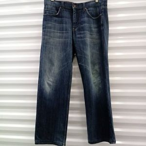 Joe's Jeans Distressed Shreaded Hem Jeans Waist 36